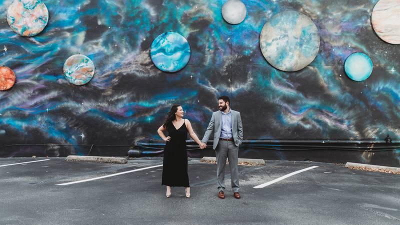Lakyn Martin and Derek Newcomb had to postpone their May wedding due to coronavirus.