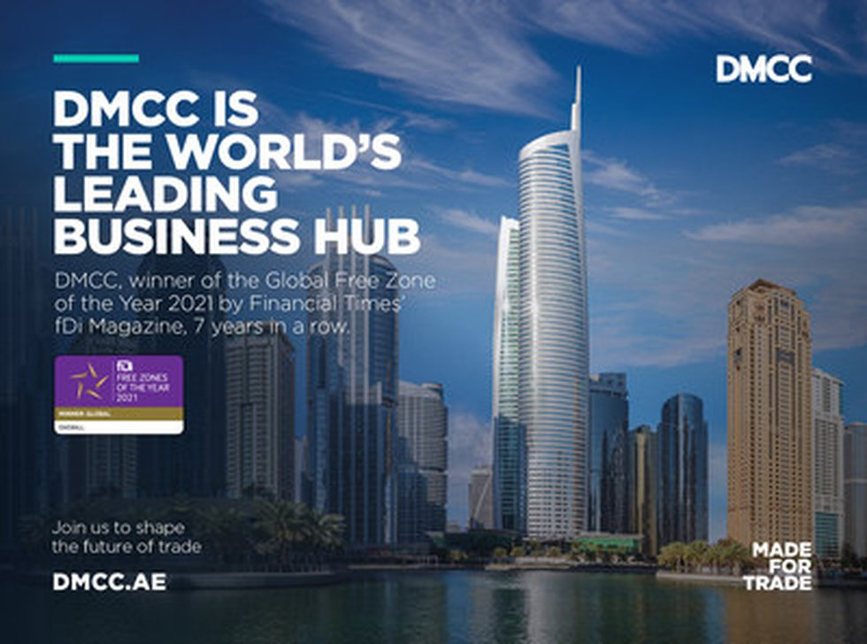 DMCC Awarded 'Global Free Zone of the Year' by Financial Times' fDi Magazine for Seventh Year...