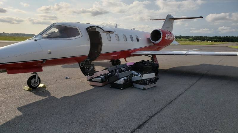 Hammond police arrested Leonard Lopez, 40, of Miami, after they intercepted a plane carrying...