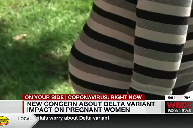 New concern about Delta variant impact on pregnant women