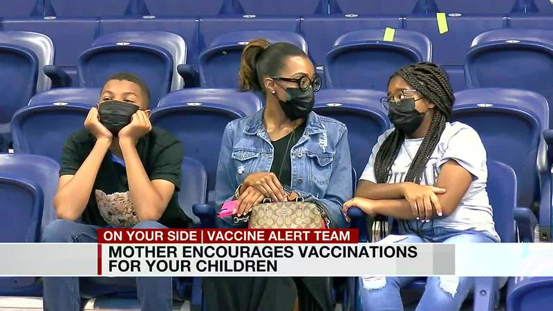 Mother encourages COVID vaccinations for your children