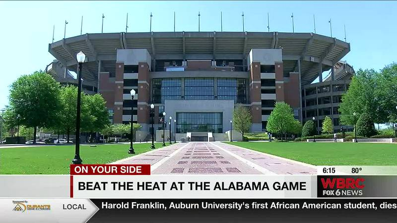 Beat the heat at the Alabama game
