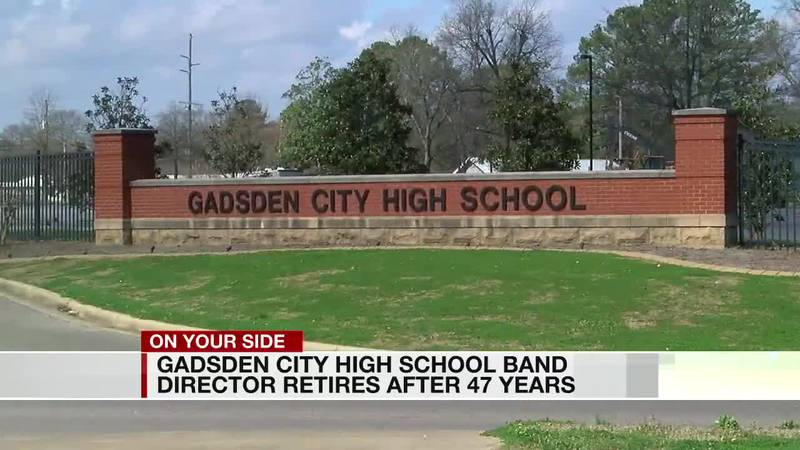 Gadsden City HS band director retires after 47 years