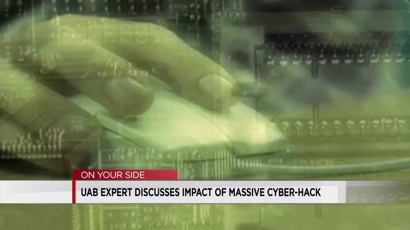 UAB expert discusses impact of massive cyber-hack