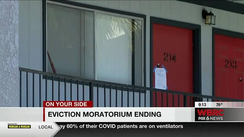 Eviction moratorium ending