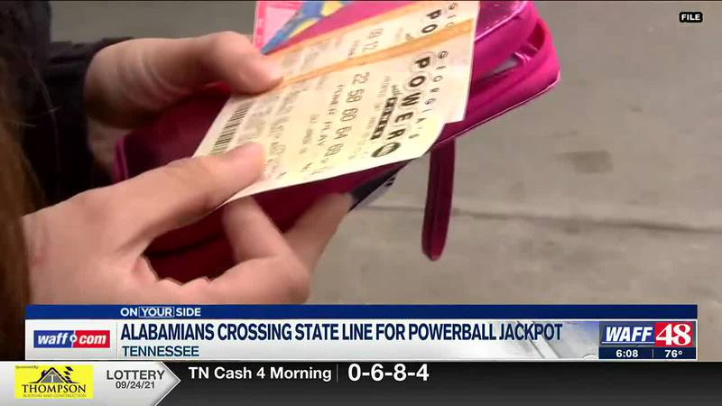 Alabamians crossing state lines for Powerball