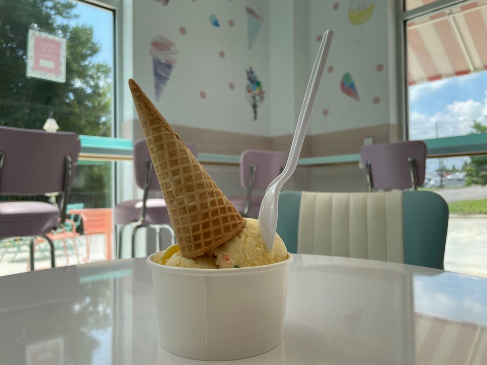"""There's a new ice cream shop in Vestavia Hills with a sweet mission. """"Unless U"""" Scoops staff..."""