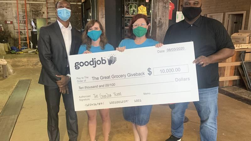 GoodJob donates $10K.