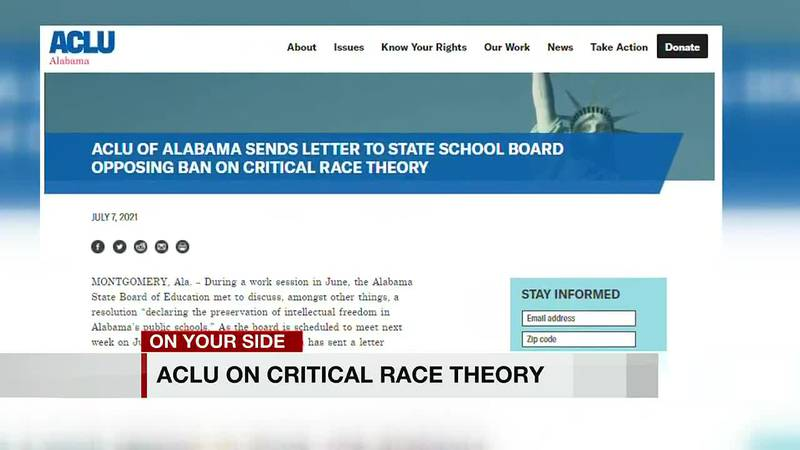 ACLU on Critical Race Theory