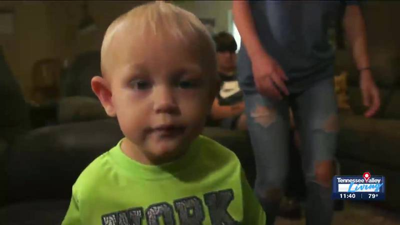 Sawyer Macon prepares for his upcoming kidney transplant