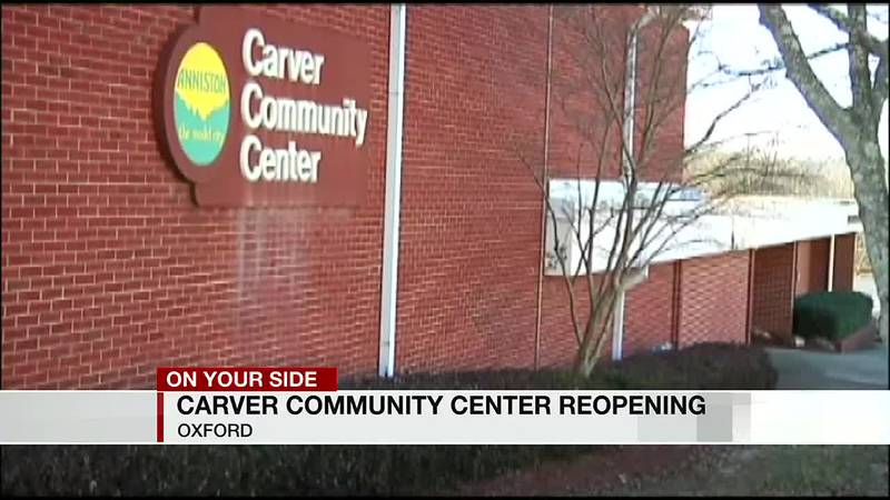 Carver Community Center in Oxford reopening
