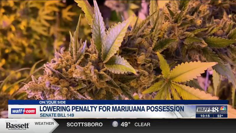 Alabama could lower the penalty for marijuana possession