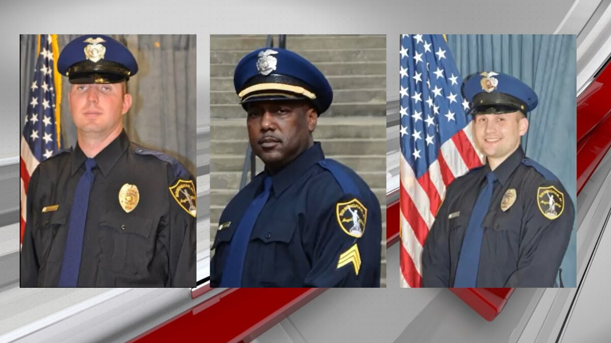 Birmingham Police honors three officers shot in line of duty