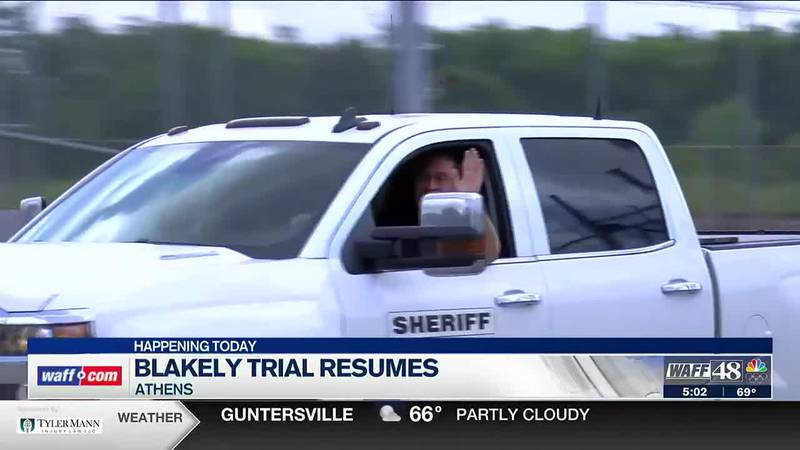 Jury selection continues on Tuesday for Limestone County Sheriff