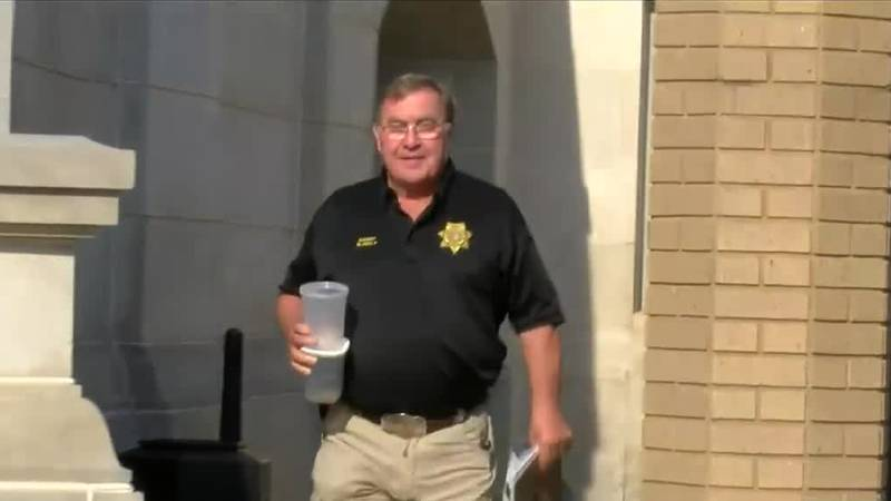 Former sheriff Mike Blakely