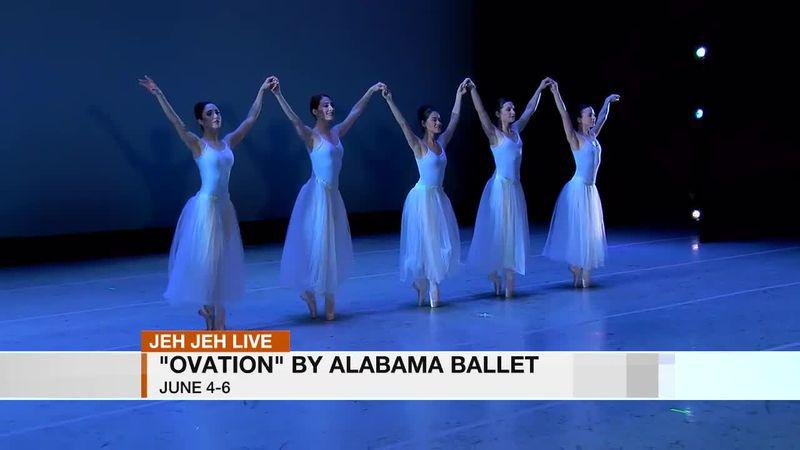 """Jeh Jeh Live: """"Ovation"""" By Alabama Ballet"""