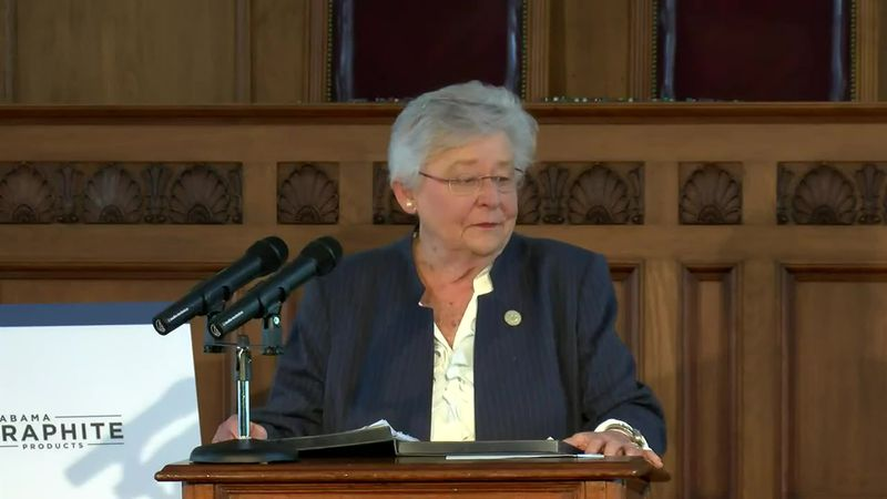 Gov. Ivey announces a first-of-its-kind graphite processing plant, critical to electric vehicle...