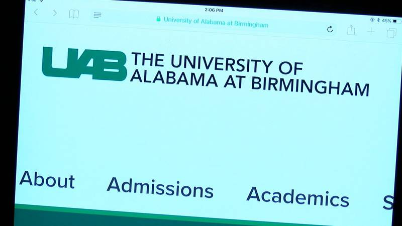 UAB website