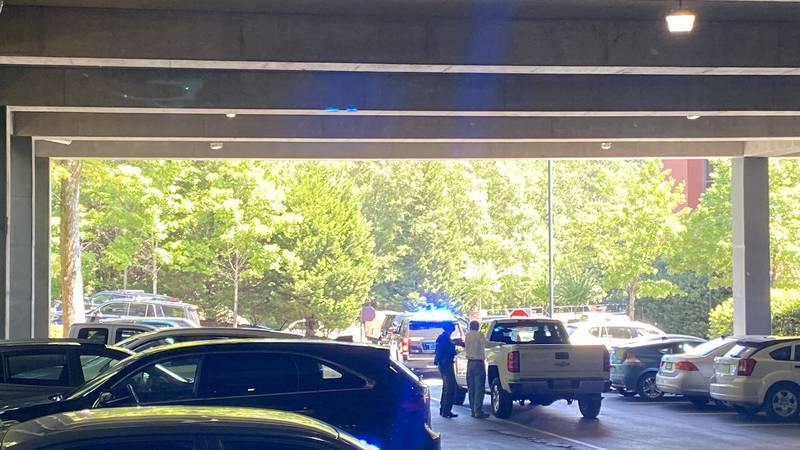 Large law enforcement presence - call was false alarm