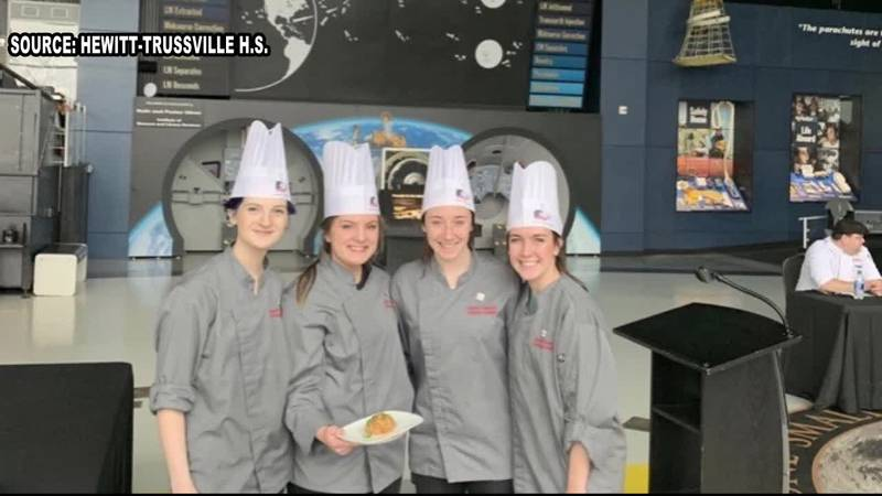 The Hewitt-Trussvile High School Culinary Team has a recipe that is literally out of this...