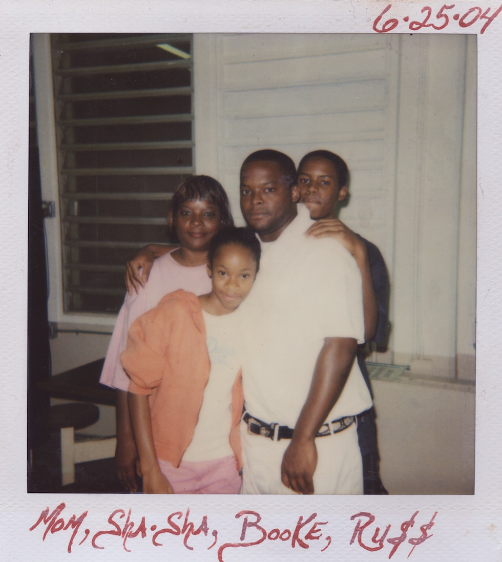 Toforest Johnson with mother, daughter Shanaye Poole and son Tremaine Perry. (SOURCE: Shanaye...