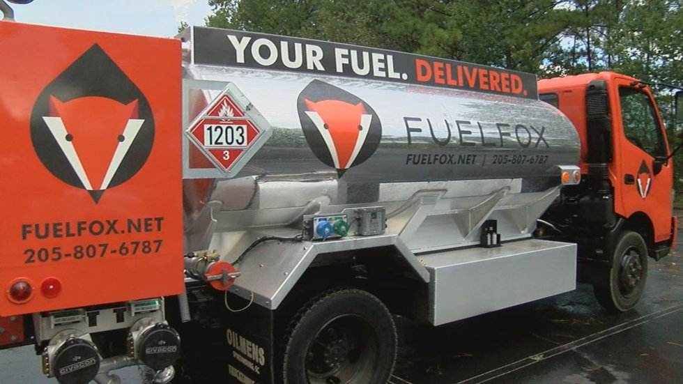 The app-based fuel-delivery service is now available to Birmingham drivers.