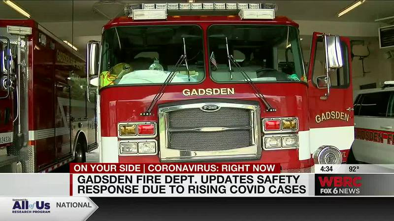 Gadsden Fire Dept. updates safety response due to rising COVID cases