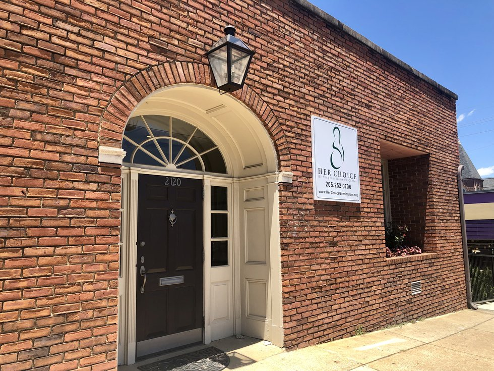 Her Choice, located at 2100 7th Avenue South, is one of over a dozen crisis pregnancy centers...