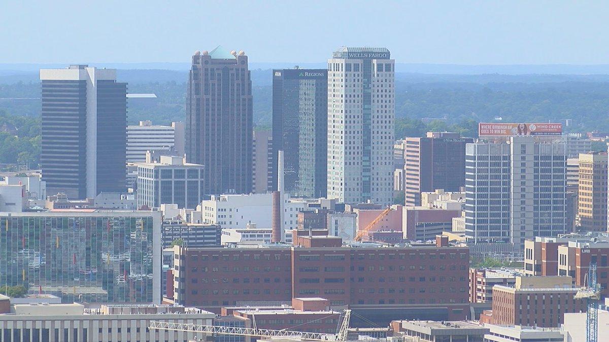 The Birmingham skyline. (source: WBRC)