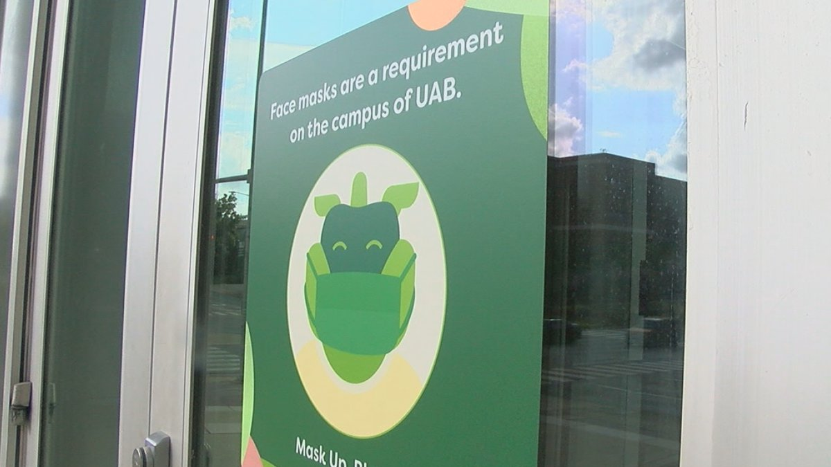 We're checking in with UAB as the school prepares to welcome students back during the pandemic.