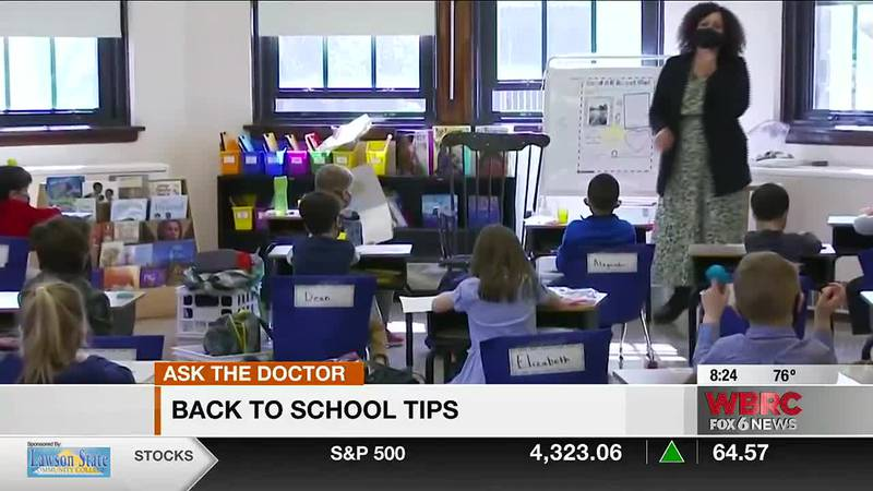 Dr. Peily Soong with Children's of Alabama joins us with back to school tips.