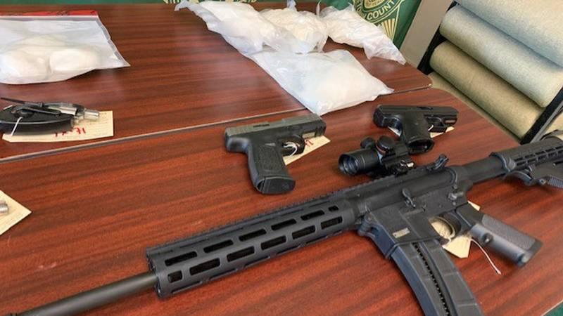 Arrests in Etowah Co. drugs, firearms investigations