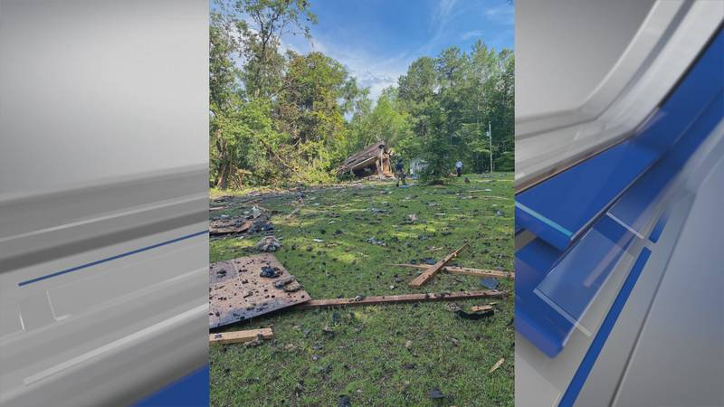 Alexander City firefighters say a vacant house exploded just inside the Coosa County line on...