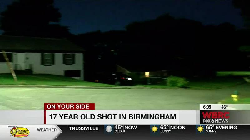 17-year-old shot