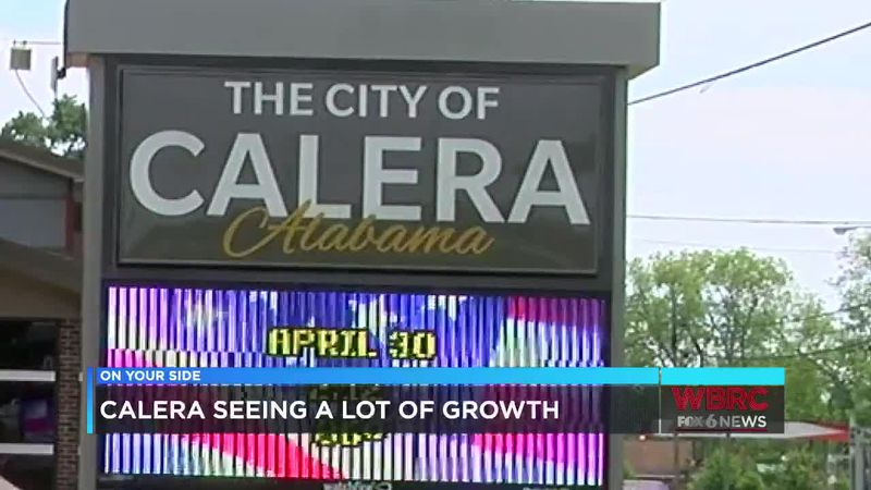 Calera seeing a lot of growth