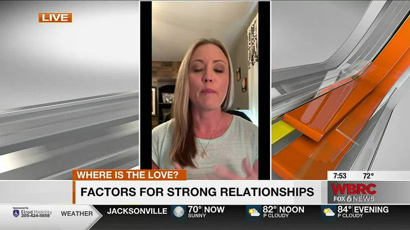 Dr. Misty Smith talks about strong relationships.