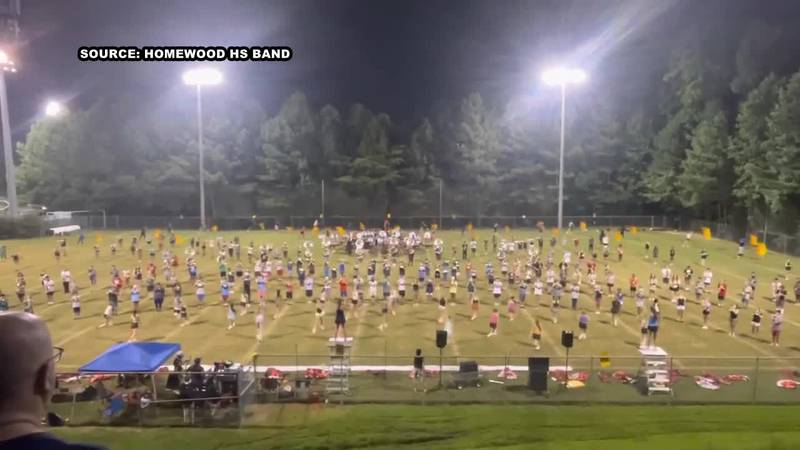 VIDEO: The Homewood Patriot Band
