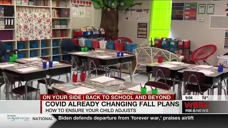 COVID already changing fall plans