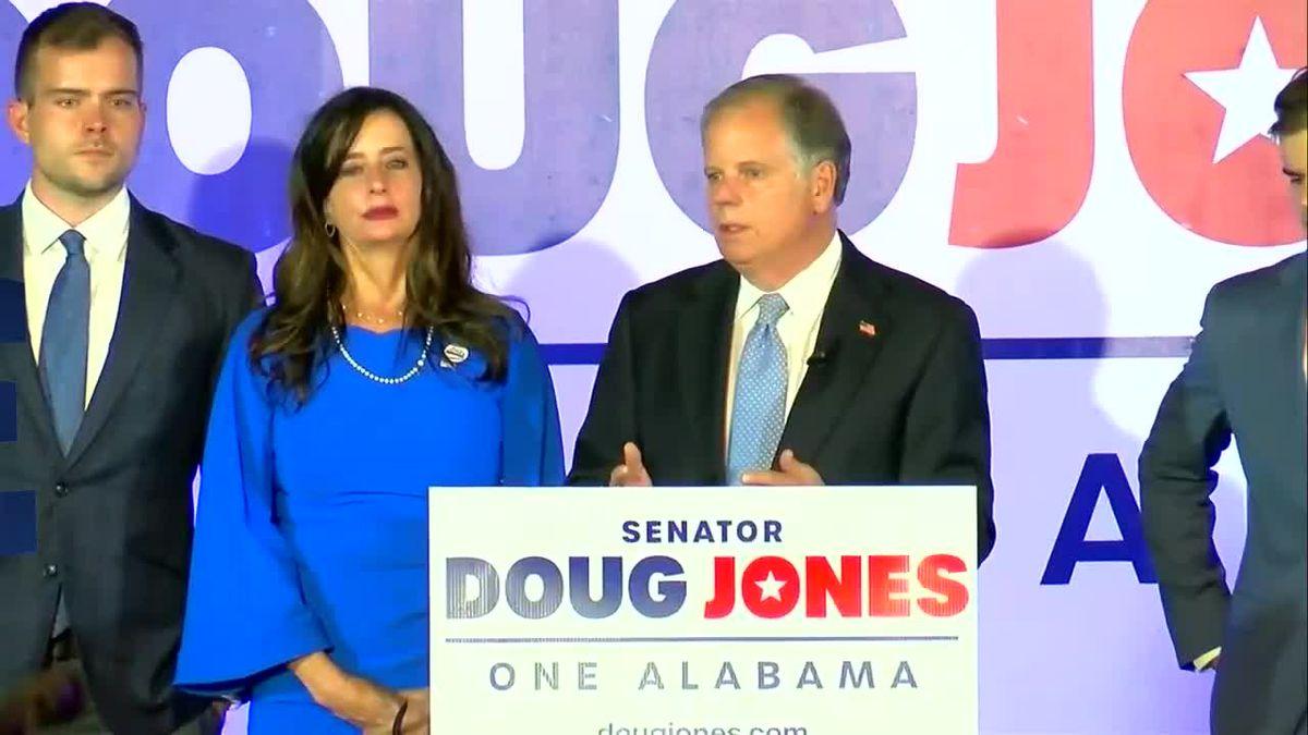 Doug Jones concession speech in Senate race