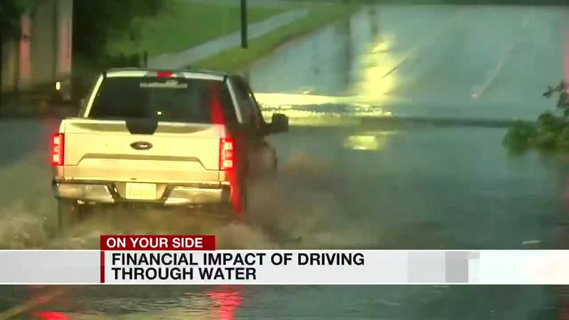 Financial impact of driving through water
