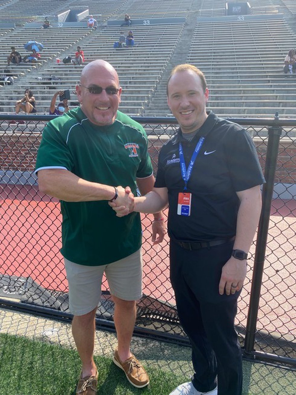 Academy Sports + Outdoors surprises Huffman HS and area coaches