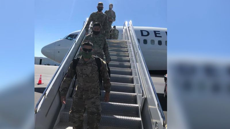 According to a Facebook post from the North Carolina National Guard, more of the soldiers from...