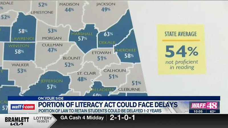 Portion of literacy act could face delays