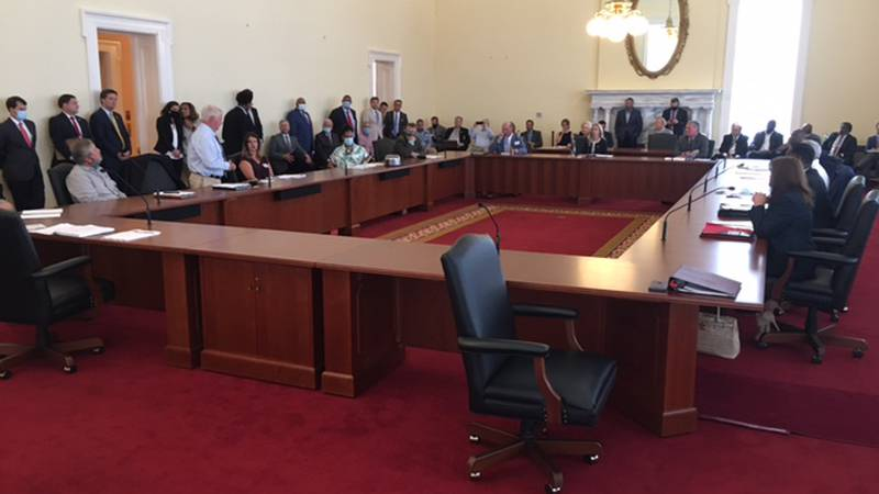 The Alabama Medical Cannabis Commission met in the state Capitol to begin the long process of...