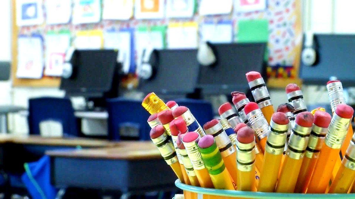 The school system says its COVID numbers at this point are higher than at any point in the...