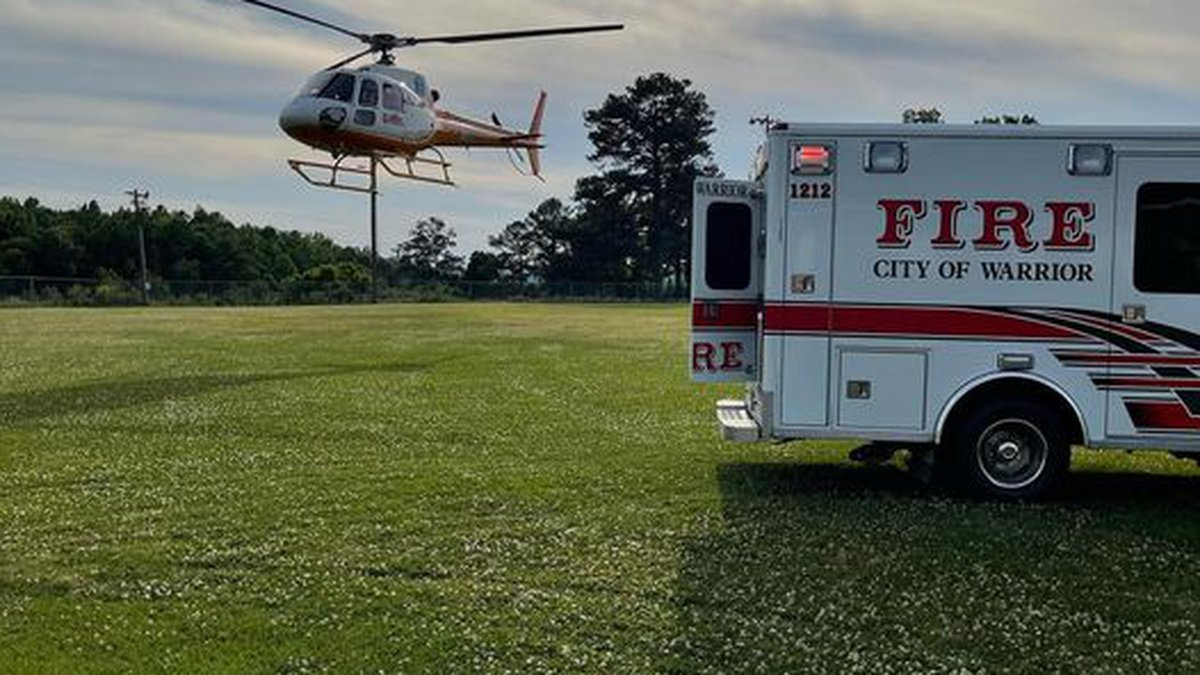 Crews were called to Gurley Road and had to use a boat and utility terrain vehicle to get the...
