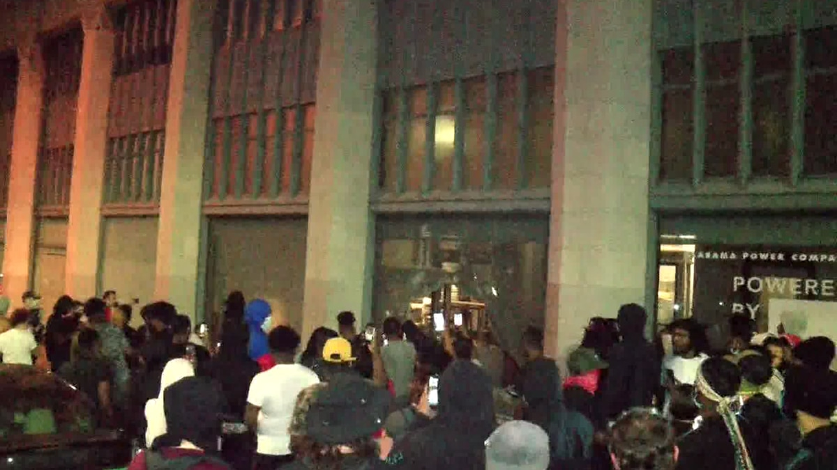 Al Power building during protests