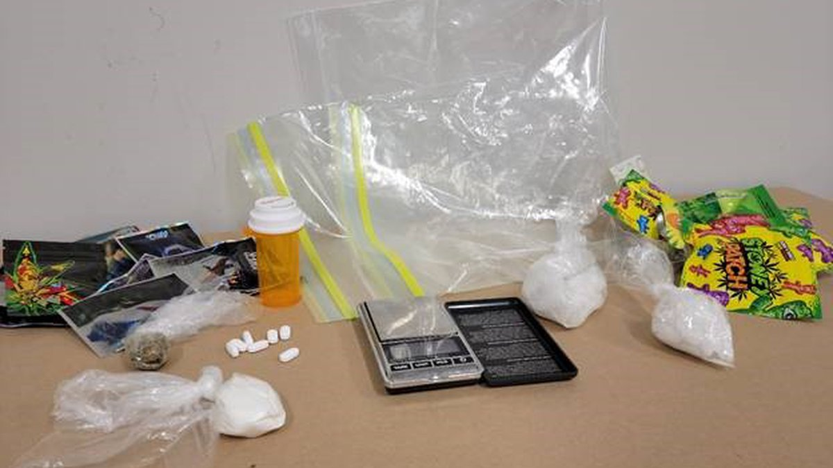 Ice and Cocaine seized