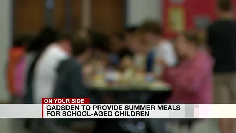 Gadsden summer food program