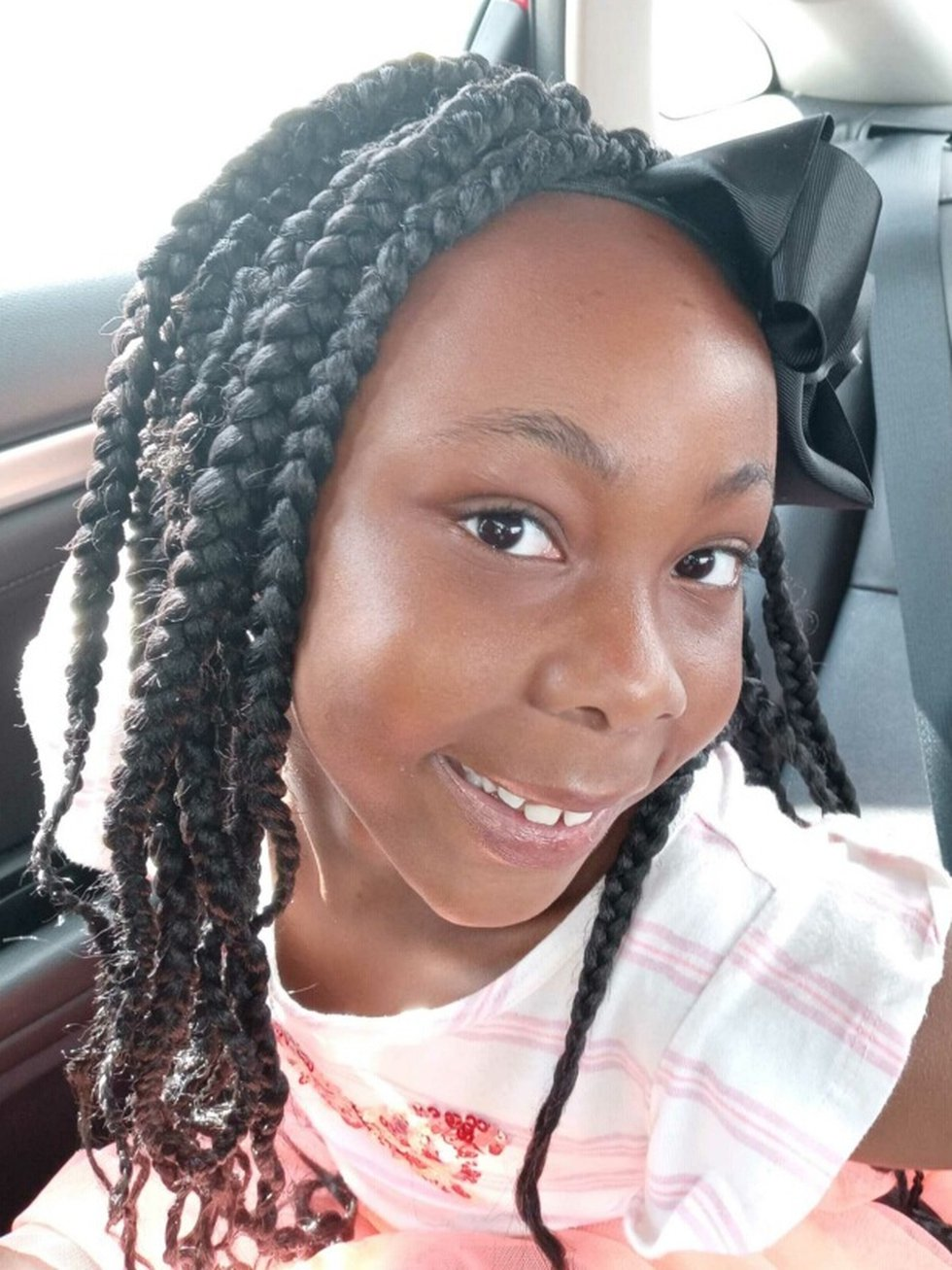 8-year-old Kaitlynn Grady was shot on May 18, 2021 while sitting in the back seat of her mom's...